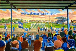 links park  on matchday print